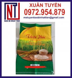 Chuyên cung cấp bao PP dệt đựng gạo 10kg