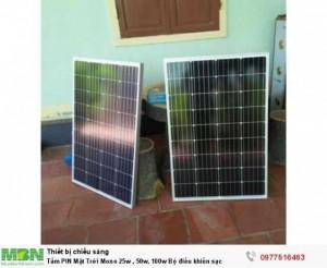 Tấm Pin năng lượng mặt trời - Đèn tích điện...