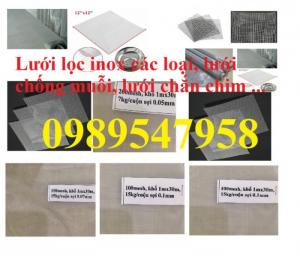 Lưới inox lọc dầu, lưới inox304 lọc thực phẩm - lưới dệt