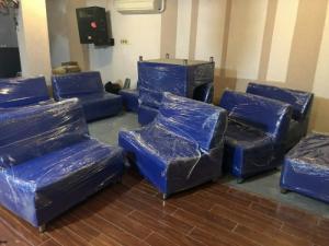 Sofa simili giả tại xưởng..