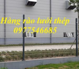 Lưới hàng rào công trình, mẫu hàng rào lưới thép