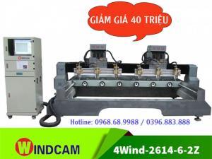 Máy đục tượng | Máy đục tượng gỗ | Máy CNC 4 trục 2614-6-2Z