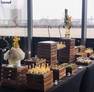Lacosa - Khay buffet gỗ cao cấp tại TP HCM