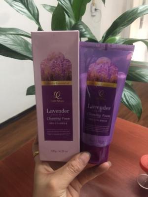 Kem rửa mặt lavender