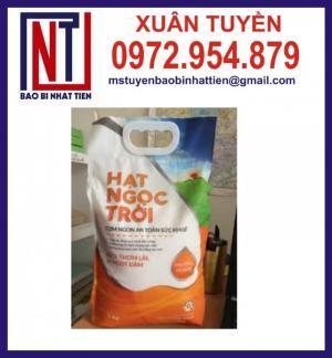 Túi đựng gạo 5kg, bao bì gạo 5kg