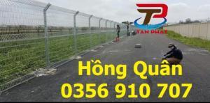 Hàng rào lưới thép, hàng rào đẹp, hàng rào chắn sóng D5 a50*150
