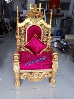 Mua ghế vua cổ điển, ghế nữ hoàng giá rẻ tại Bình Dương