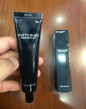 Gel lột mụn Withme Awesome Black Pore Clear Pack xách tay Hàn Quốc