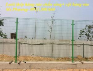 Lưới hàng rào gập đầu D6 ô50x100, ô50x150,...