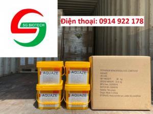 Diệt khuẩn Potassium Permonosulfate an toàn, phổ rộng (Aquaze)