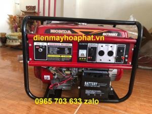 Máy phát điện Honda 7kw SH7500EX chạy xăng dùng gia đình, nhà xưởng.