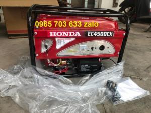Máy phát điện Honda EC4500CX Đề Nổ, 3.5kw xăng, tiết kiệm, tải 2 điều hoà.