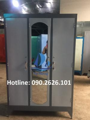 Tủ áo bằng sắt giá bèo 1m2x1m8 giá 1,090k