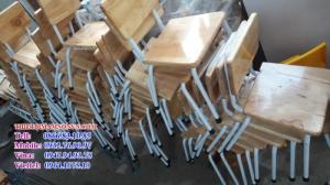 Ghế nhập khẩu, các loại ghế gỗ chân sắt và ghế nhựa tay vịn nhập khẩu đang bán chạy