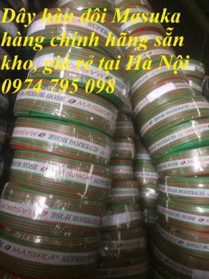 Dây hàn đôi Masuka Hàn Quốc chính hãng giá rẻ hàng sẵn kho tại Hà Nội