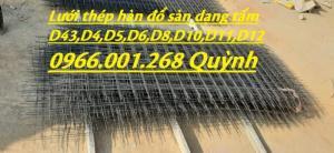 Chuyên sản xuất lưới thép hàn cường lực phi 4,phi 5,phi 6 đến phi 12 giá rẻ