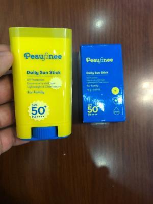 Thỏi lăn chống nắng Peaufinee Daily Sun Stick xách tay Hàn Quốc