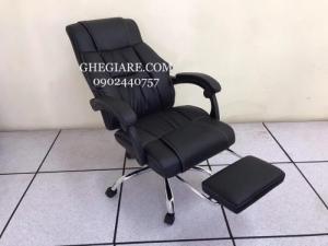 Chuyên sản xuất ghế giám đốc , ghế lãnh đạo màu da đen tay ốp da