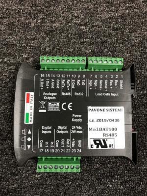 Đầu cân Điện Tử Pavone DAT 100 RS485 Sản xuất tại Italia