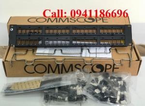 Thanh đấu nối Patch Panel Cat5/Cat6 48 Port COMMSCOPE Sẵn số lượng