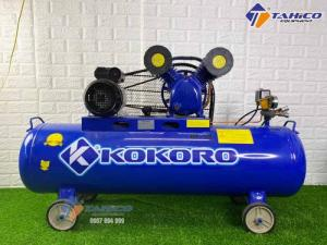 Máy nén khí dây đai 3hp Kokoro ở Gia Lai