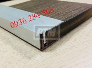 Nẹp nhôm kết thúc sàn gỗ (nẹp F)