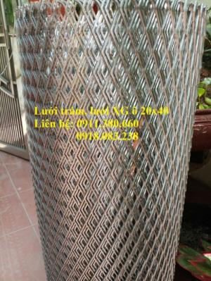 Lưới trám, lưới dập giãn 20x40. Khổ 1m, 1.2m/ cuộn