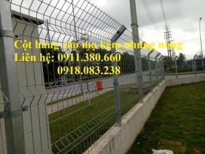 Hàng rào mạ kẽm nhúng nóng D5 ô 50x100, 50x150,...