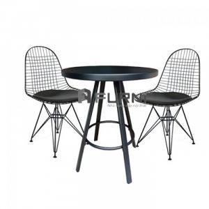 Bộ bàn ghế café để ban công ngoài trời hiện đại TE1531 DKR 1