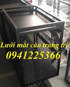 Sản xuất lưới thép kéo giãn, lưới dập giãn tại Hà Nội