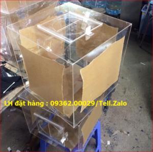 Xưởng chuyên  sản xuất hòm phiếu mica, thùng phiếu mica tại quận Thanh Xuân