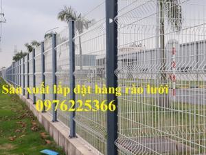 Hàng rào lưới thép mạ kẽm, sơn tĩnh điện D5a (50x150) mm