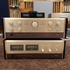 Accuphase Pre,power C200V , P300V