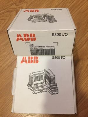 Module đầu ra tương tự cho PLC ABB AO810V2