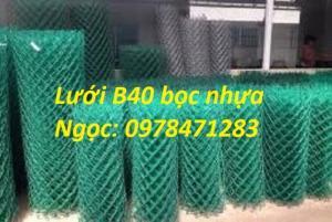 Chuyên sản xuất lưới B40, lưới hàng rào dây 2,7 ly, dây 3,4ly, dây 3,7ly.