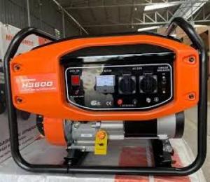Máy phát điện Huspanda H3600 chạy xăng, giật nổ, công suất 3_3,2kw