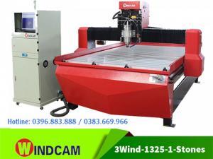 Máy CNC điêu khắc đá | Máy đục đá CNC 1 đầu | Máy CNC 1325-1