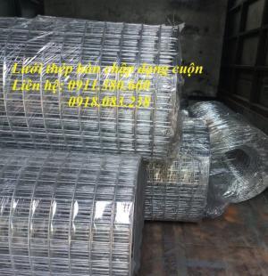 Lưới thép hàn D2 mạ kẽm, khổ 1mx30m/cuộn