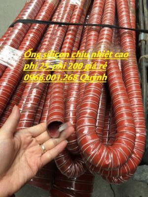 Ống silicone chịu nhiệt,ống thông khí nóng phi 51,phi 63,phi 100,phi 114