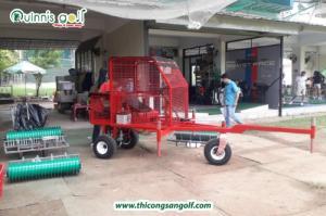 Xe Nhặt Bóng Golf Ba Càng