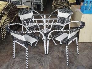 Bộ bàn ghế cafe sân vườn AK11