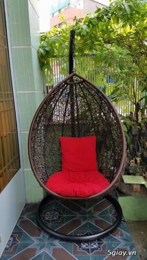 Ghế xích đu thư giãn đan rối giá rẻ