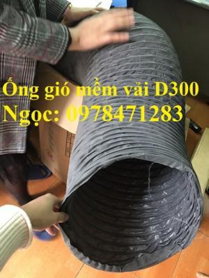 Ống gió mềm vải D100, D125, D150, D200, D250 thông gió, hút khí, hút mùi.