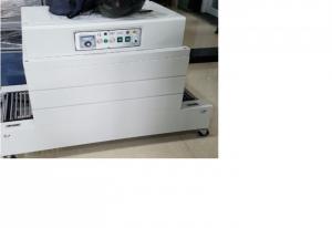 Máy rút  màng co PVC 400*350, máy bọc màng co nhãn chai