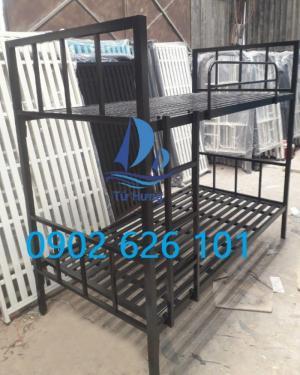 Giường tầng sắt hộp vuông 40x40