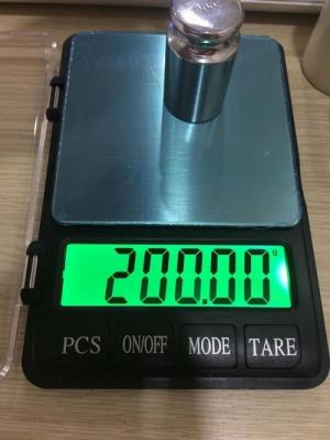 Cân tiểu ly bỏ túi NB2 (500g x 0.01g) và (300g x 0.01g)