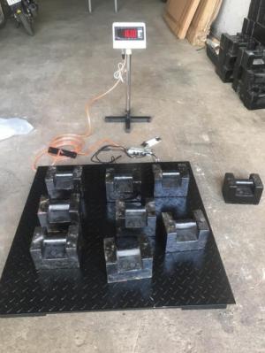 Cân sàn điện tử TPSDH - 500kg - 1Tấn - 2Tấn - 3Tấn