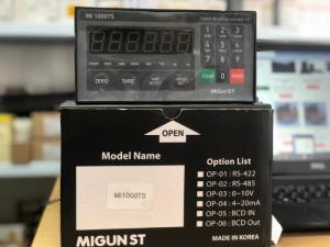 Đồng hồ cân MI1000T/S, xuất xứ: Migun – Hàn Quốc
