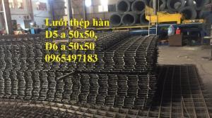 Lưới thép hàn D5 a 50X50, D6 a50x50 . Nhận đặt hàng theo yêu cầu