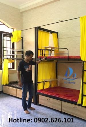 Giường tầng nhà trọ cao cấp